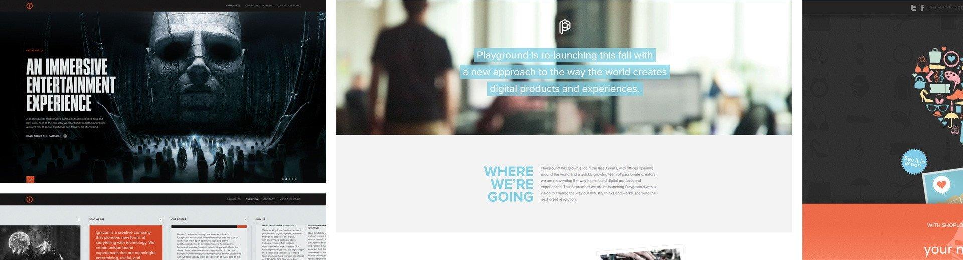 Okładka artykułu Inspirujące strony internetowe — Październik 2012