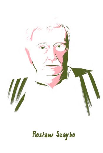 Radosław Szaybo - rys. Igor Kubik