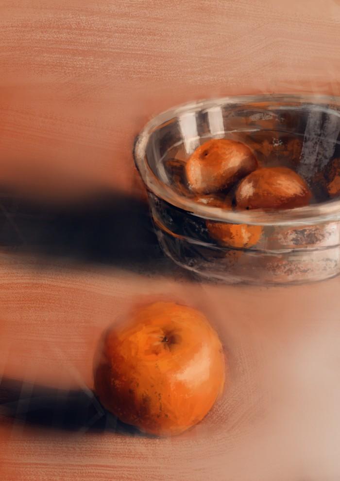 11 Martwa natura, czyli jak malowac pomarancze