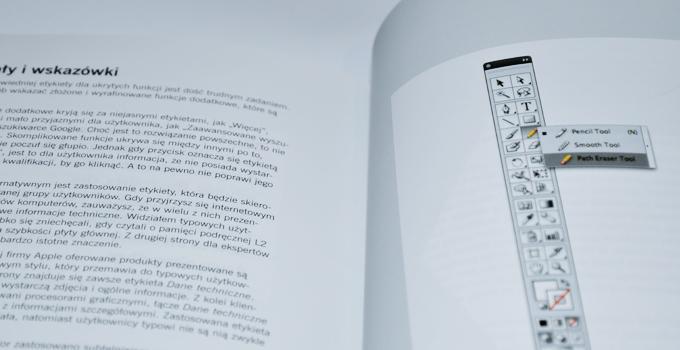 Pasek boczny programu Adobe Illustrator