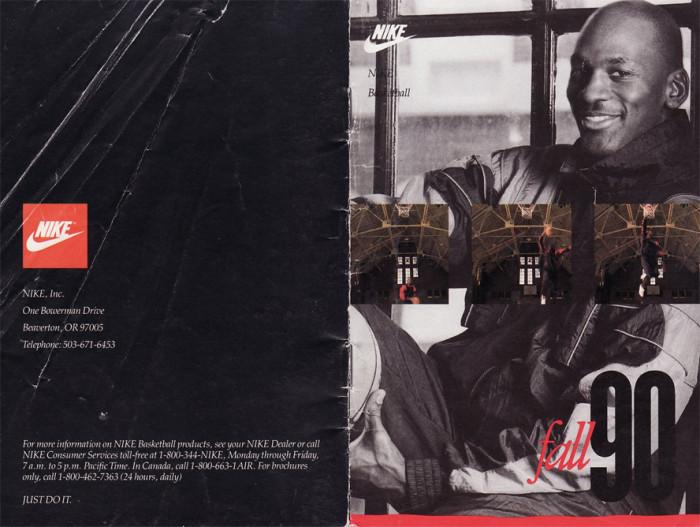 Katalog Nike z 1990 roku, flattophitop.blogspot.com