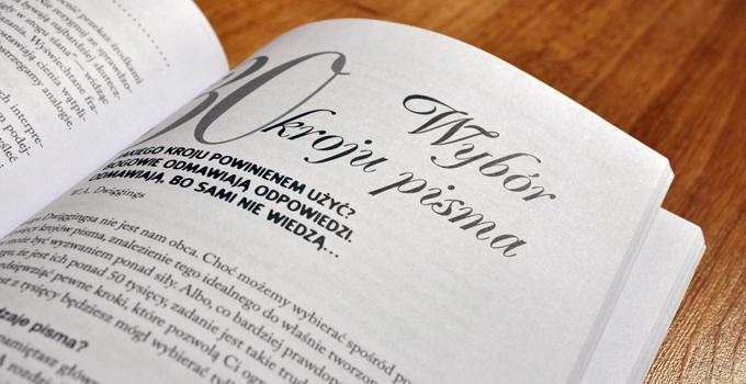 04 Typografia od podstaw. Projekty z klasa Robin Williams. Recenzja