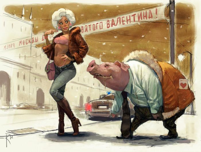valentin_and_valentina_by_waldemar_kazak-d4pok7c
