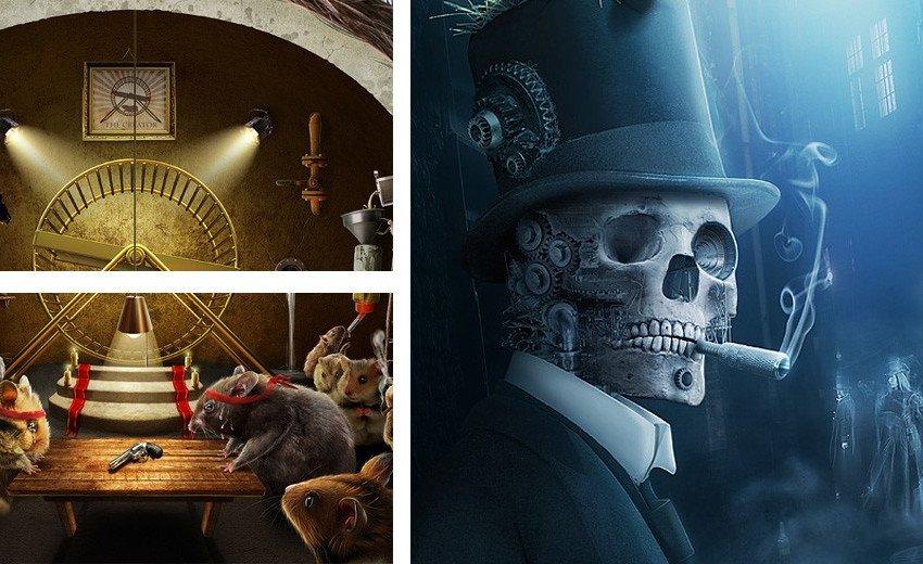 Okładka artykułu Dawka niesamowitych foto-manipulacji — Które pobudzą Waszą wyobraźnię