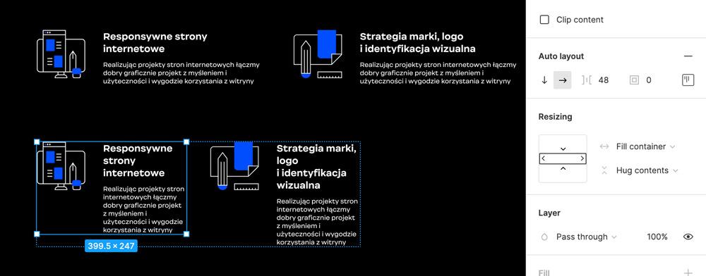 Projektowanie responsywne w Figmie
