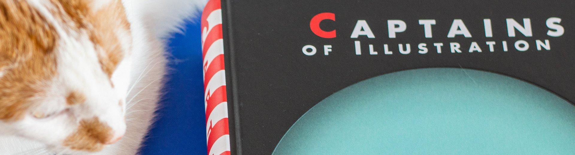 """Okładka artykułu Czym jest polska ilustracja dla dzieci? — Recenzja książki """"Captains of Illustration"""""""