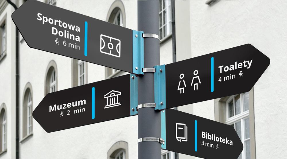 Nowe oznakowanie miejskie - Koszalin 2018