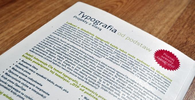 06 Typografia od podstaw. Projekty z klasa Robin Williams. Recenzja