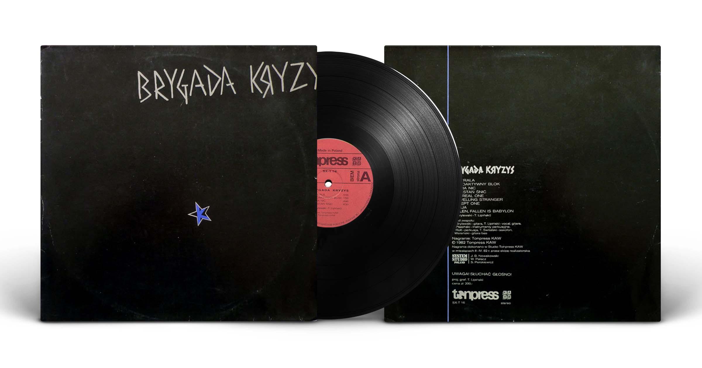 """3.Brygada Kryzys, """"Brygada Kryzys"""", LP, Tonpress, 1982"""