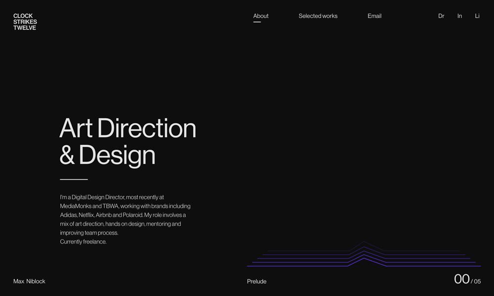 Portfolio projektantów i studiów graficznych