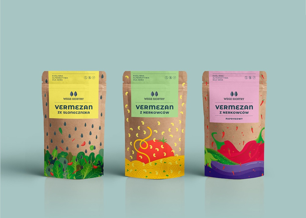 Vege Sisters—identity&packaging, Podpunkt )