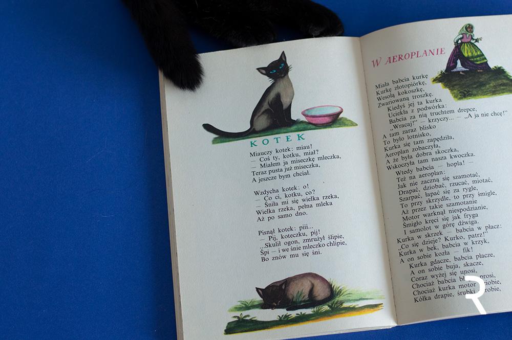 Olga Siemiaszko - ilustracje do Wierszy dla dzieci Juliana Tuwima