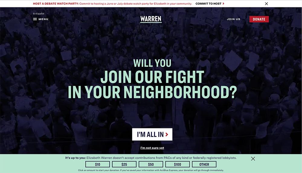 Część strony internetowej
