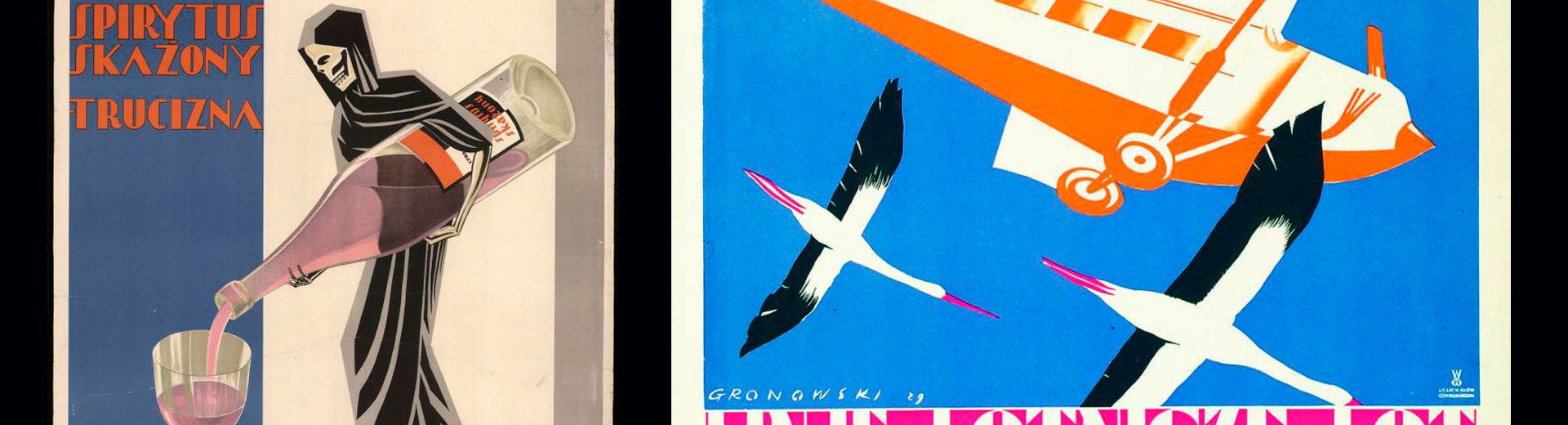 Okładka artykułu Polski plakat na początku XX wieku — Sztuka łącząca rozbity kraj