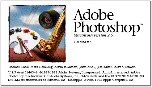 Adobe Photoshop 2.5