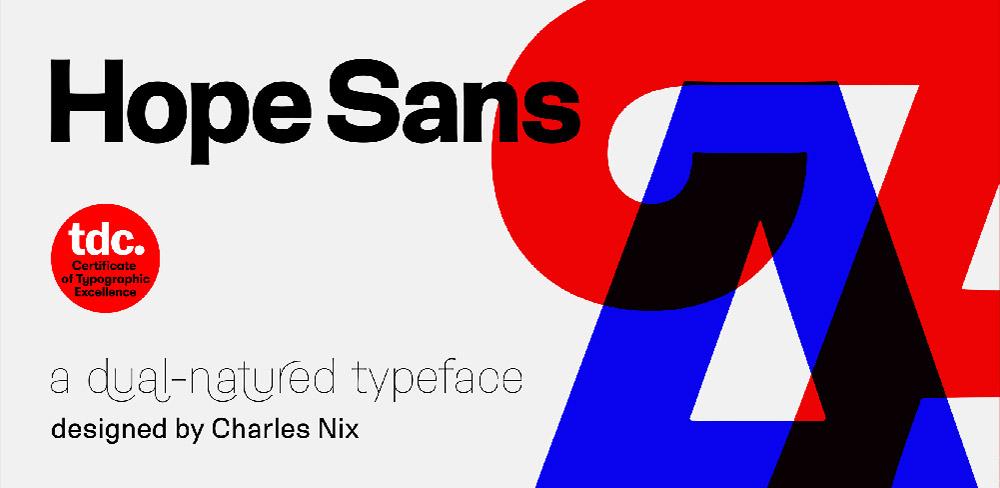 Hope Sans — Charles Nix z Woburn, USA