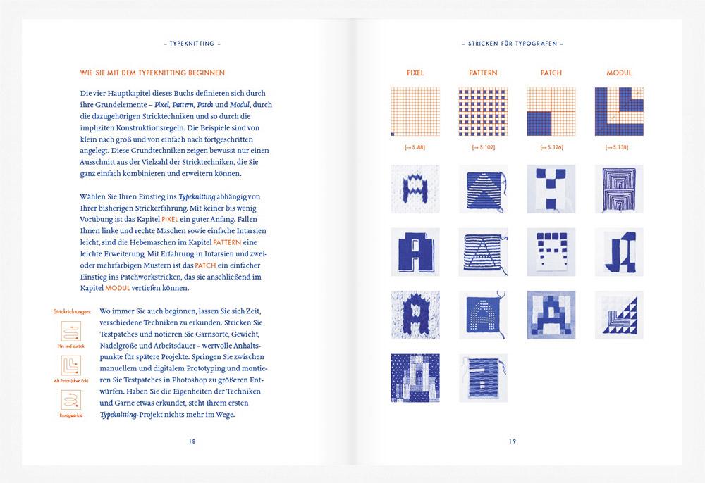 Pixel, Patch und Pattern: Typeknitting — Rüdiger Schlömer z Zurychu