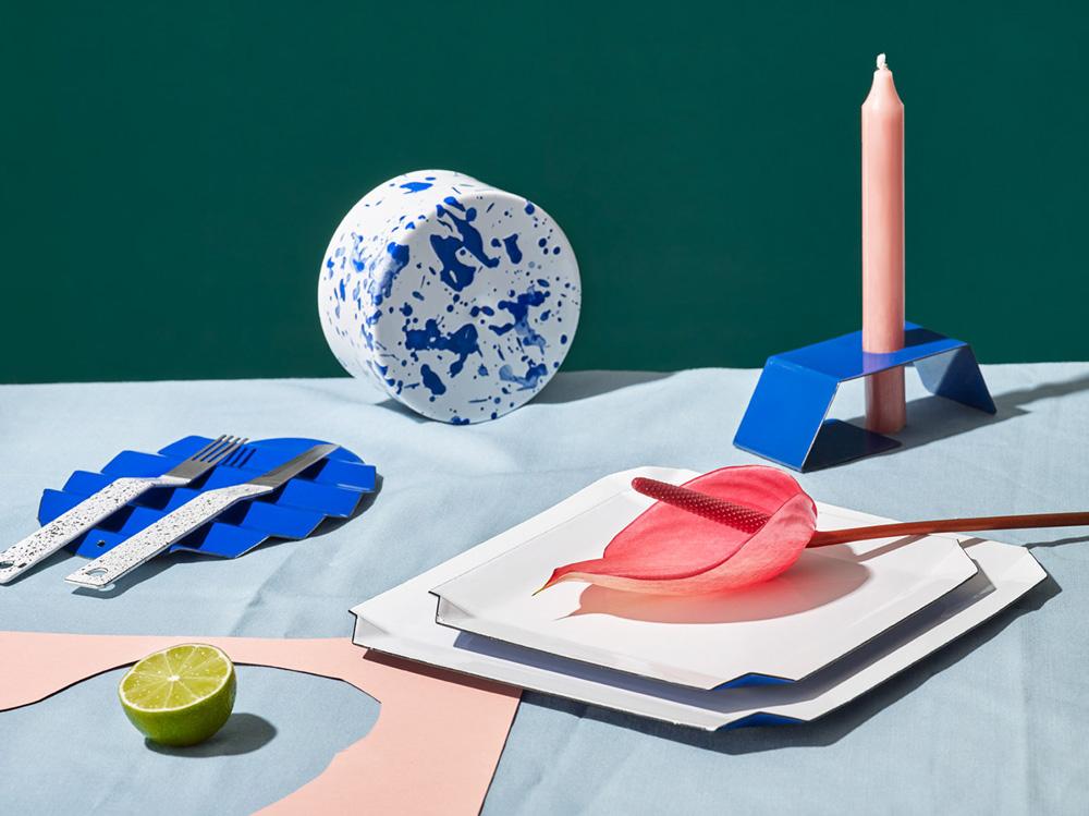 Enamel Tableware,Maciej Miloch
