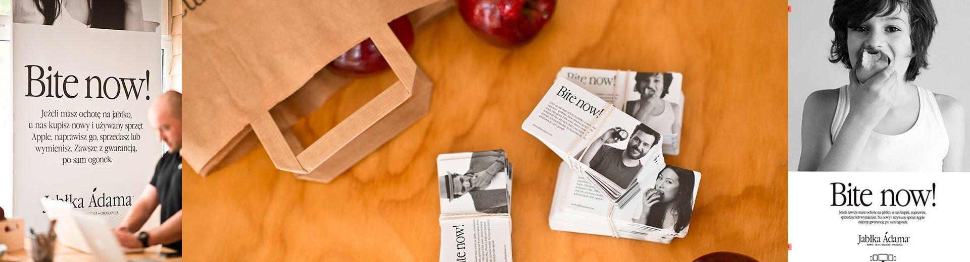 """Okładka artykułu """"Przejrzeliśmy naprawdę dużo zdjęć jabłek w poszukiwaniu idealnego"""" — Rozmowa z agencją MINIMA"""