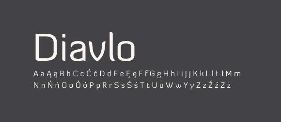 02 Darmowe fonty z polskimi znakami - Diavlo