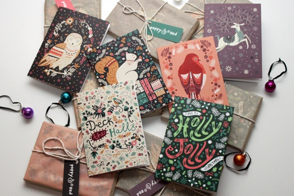 Christmas Card Collection © Poppy & Red