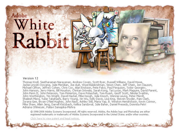 Adobe White Rabbit