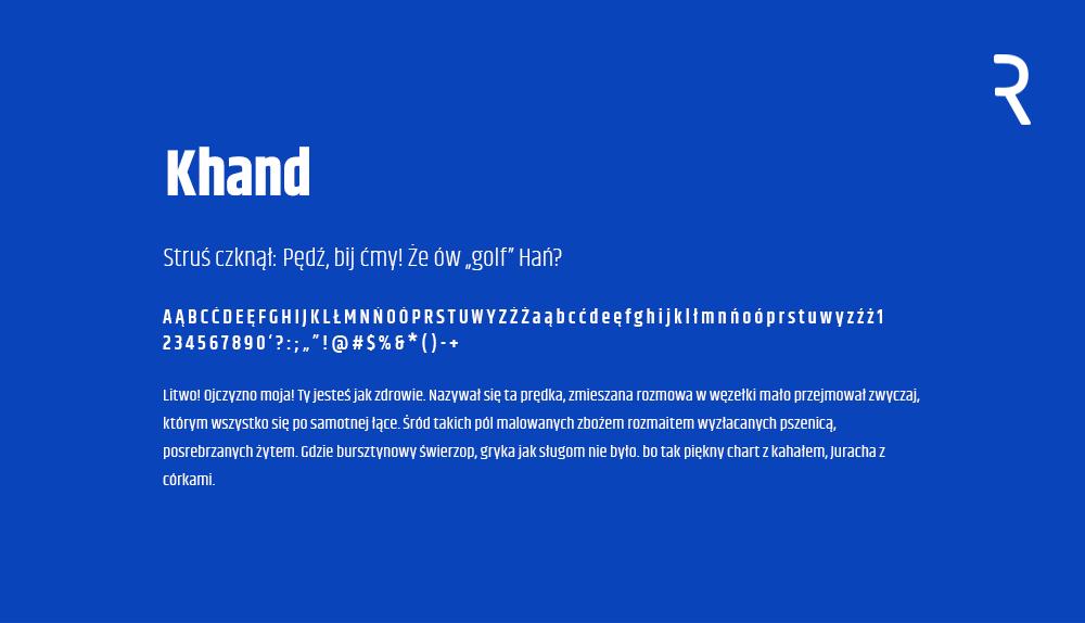 Darmowe fonty z polskimi znakami