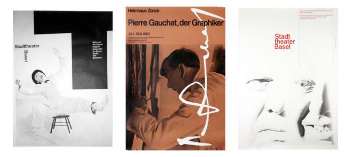 Przykłady plakatów wykorzystujących fotografie, International Poster Gallery (1, 2, 3)