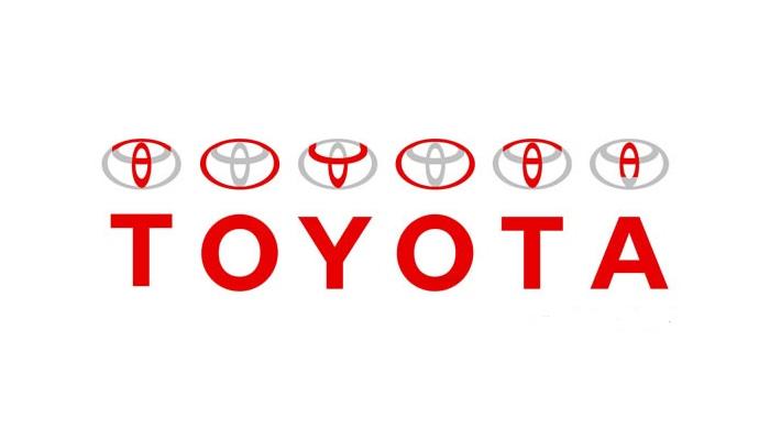 Konstrukcja logo Toyota