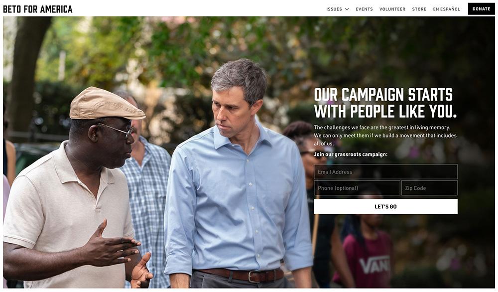Strona kampanii