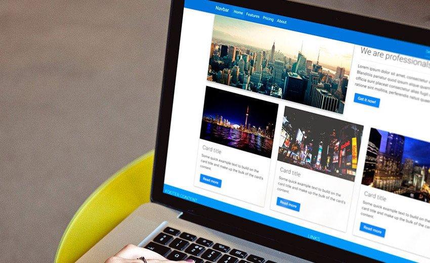 Okładka artykułu Szybko, ładnie i responsywnie — Material Design do Bootstrapa