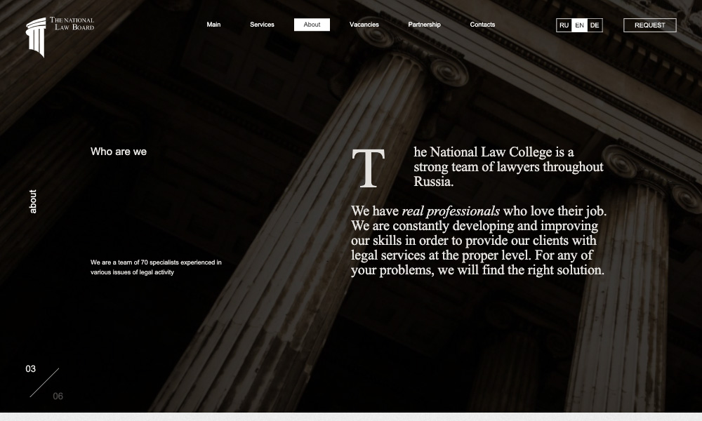 Ciekawe strony kancelarii prawniczych