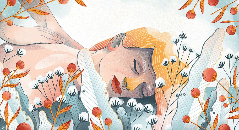 Ilustracje dla Hellozdrowie,Iza Dudzik