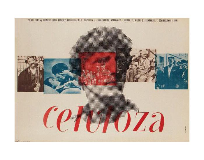 Wojciech Zamecznik, Plakat do filmu Celuloza, 1954