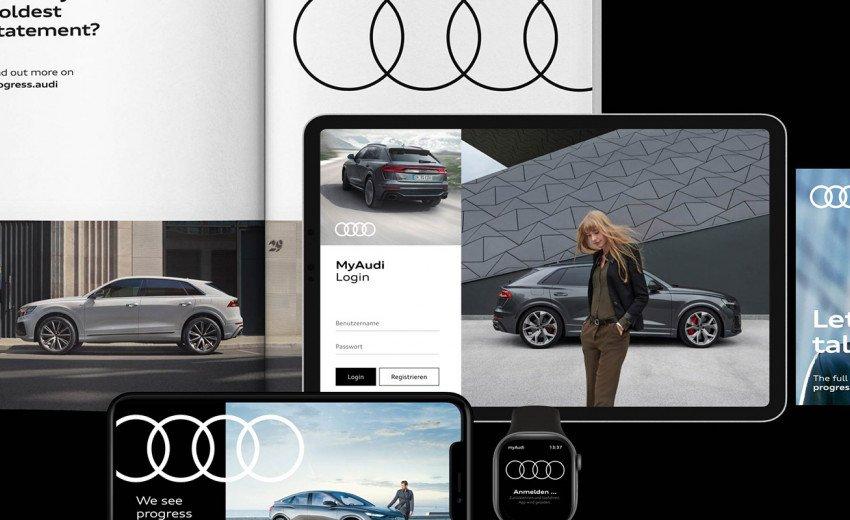 Okładka artykułu Logo zmiennym jest — O rebrandingu Audi