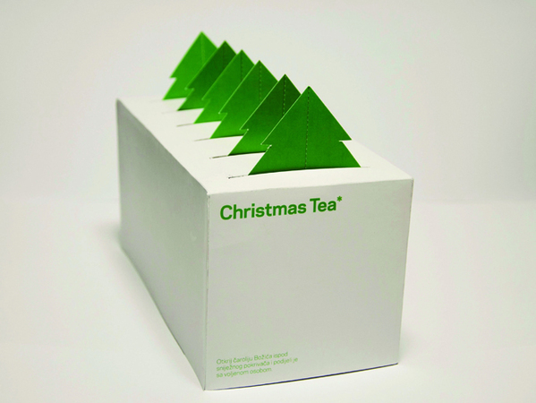 Christmas Tea packaging © Kresimir Miloloza