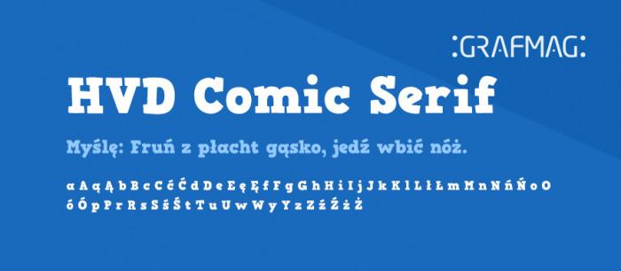 HVD-Comic-Serif-Pro