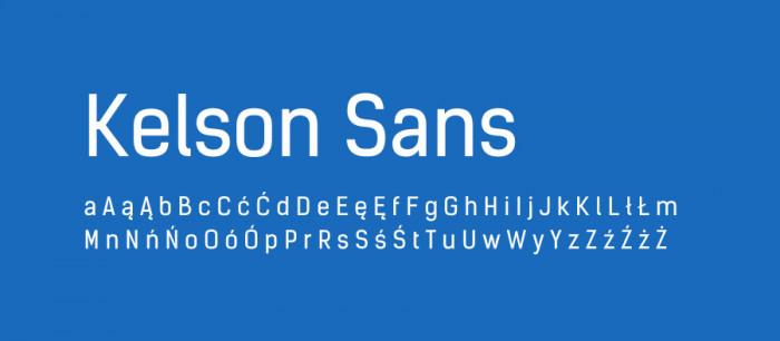 06 Kelson Sans Darmowe fonty z polskimi znakami