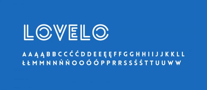 03 Lovelo Darmowe fonty z polskimi znakami