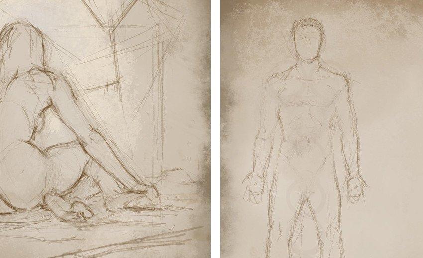 Okładka artykułu Anatomia w Digital Paintingu — Czyli jak rysować wirtualne ludzkie ciało