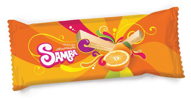 19 Opakowanie wafli Samba Wafer