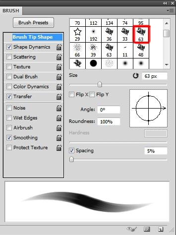 01 Ustawienia pedzla Photoshop Tworzenie ilustracji na potrzeby gry karcianej