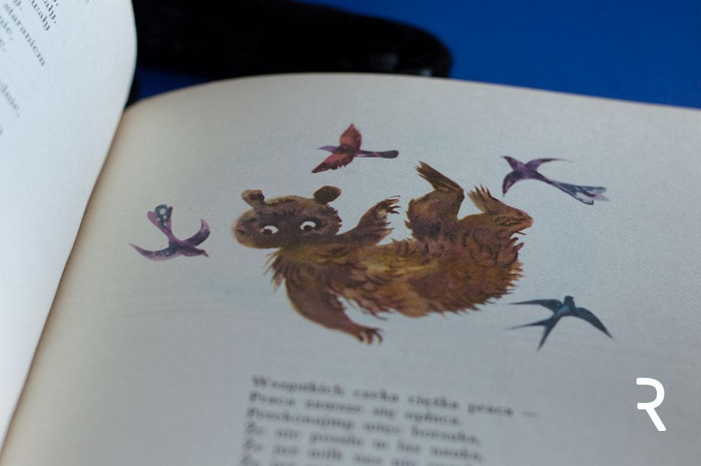 Jan Marcin Szancer ilustracje do książki Brzechwa dzieciom