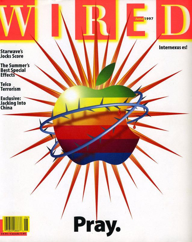 Okładka Wired z 1997 roku