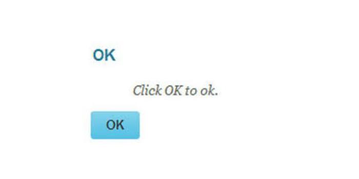 Obraz 4. Zbędny komunikat wyświetlany na ścieżce użytkownika.