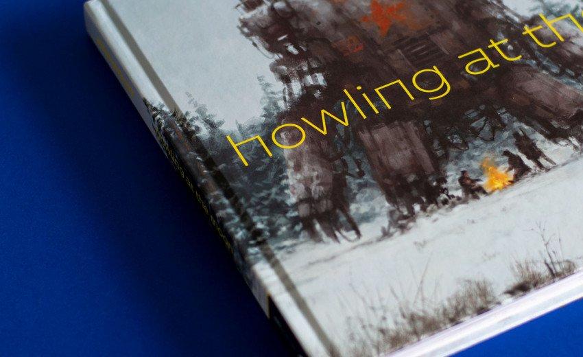"""Okładka artykułu """"Howling at the Moon"""" — Recenzja artbooka Jakuba Różalskiego"""