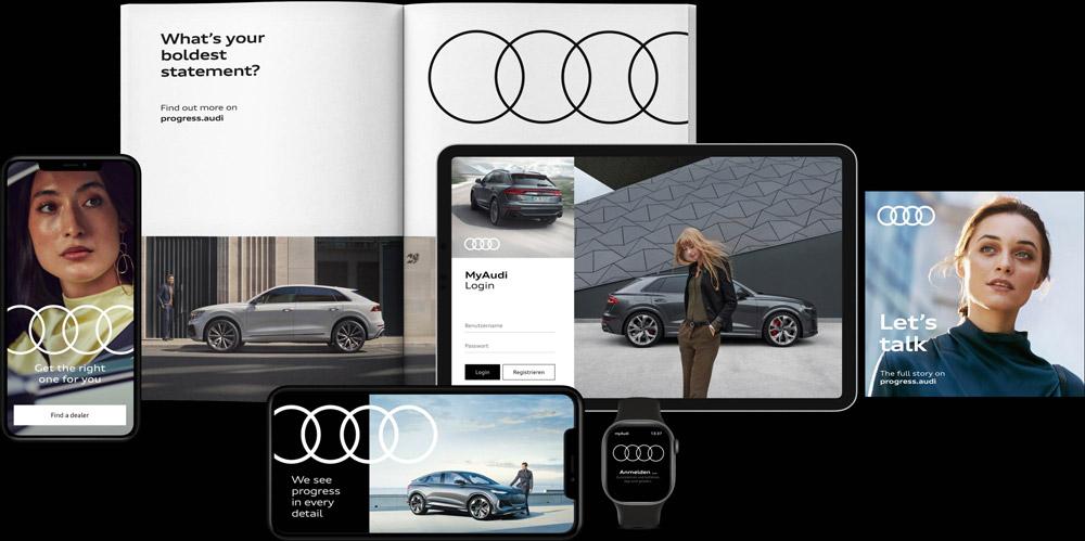 Rebranding Audi