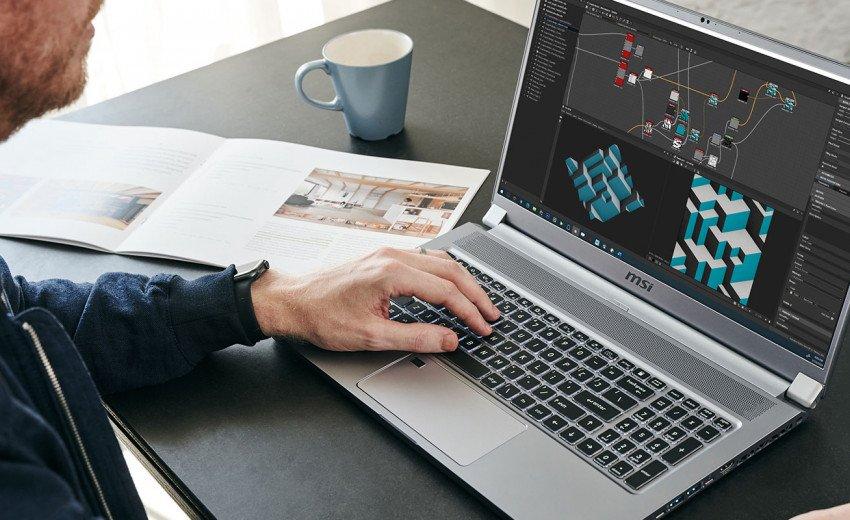 Okładka artykułu Laptop dla projektantów graficznych — MSI Creator