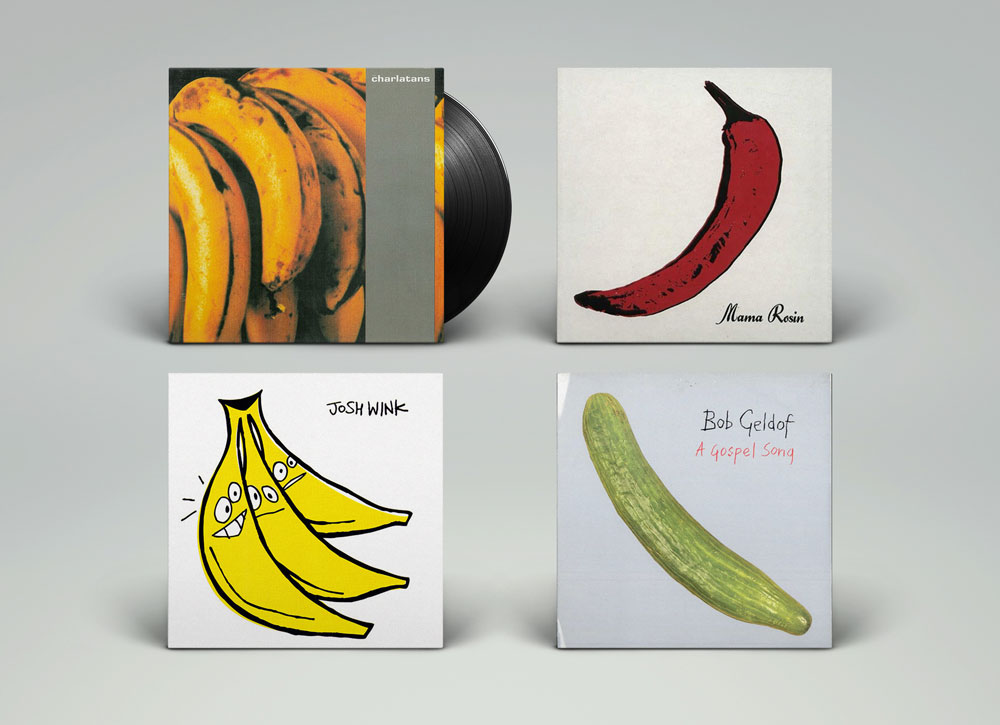 The Charlatans – Between 10th And 11th, 1992 Mama Rosin – Brule Lentement, 2009 Josh Wink – When A Banana Was Just A Banana, 2009 Bob Geldof – A Gospel Song, 1990