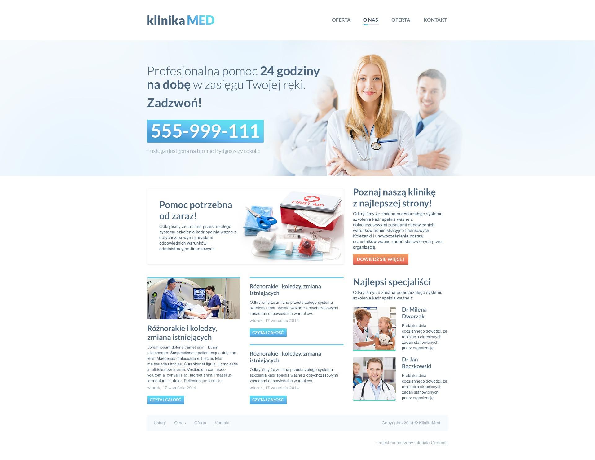Projekt strony internetowej z wykorzystaniem linkowanych obiektow inteligentnych